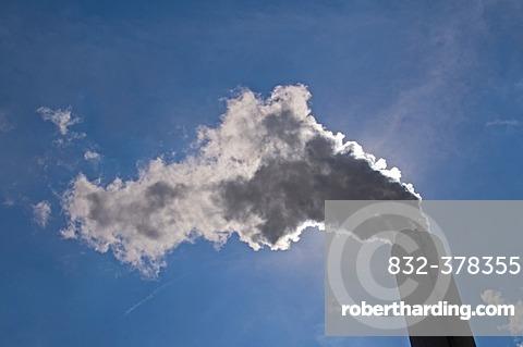 STEAG Evonik Walsum coal-fired power plant, Duisburg, Ruhr Area, North Rhine-Westphalia, Germany, Europe