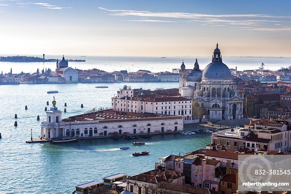 Santa Maria della Salute, Venice, Veneto, Italy, Europe