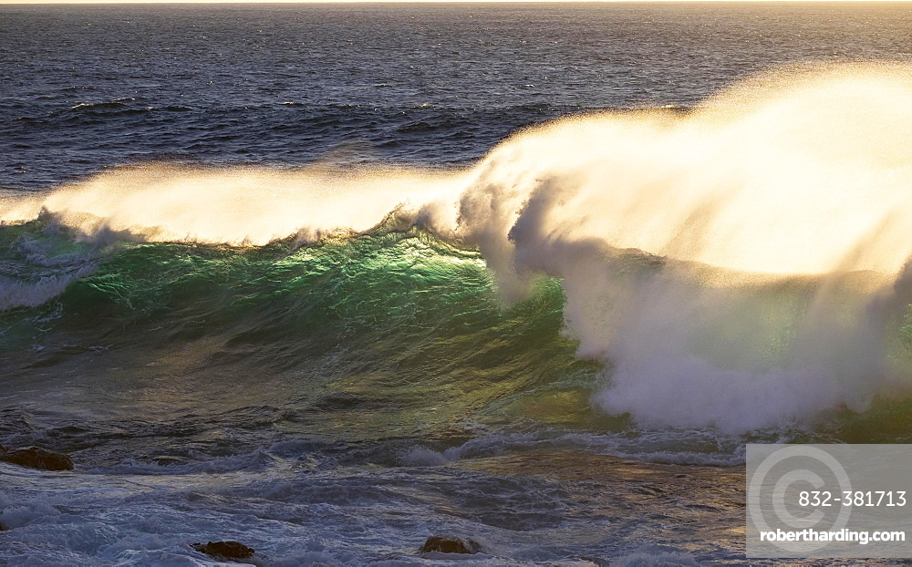 Ocean wave, Atlantic, Valle Gran Rey, La Gomera, Canary Islands, Spain, Europe