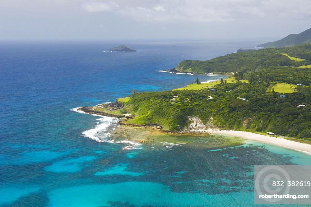 Coastline, Lord Howe Island, New South Wales, Australia, Oceania