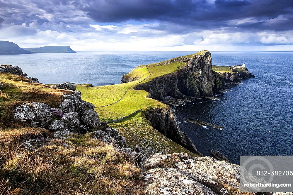 Neist Point, Ross, Skye and Lochaber, Isle of Skye, Scotland, United Kingdom, Europe