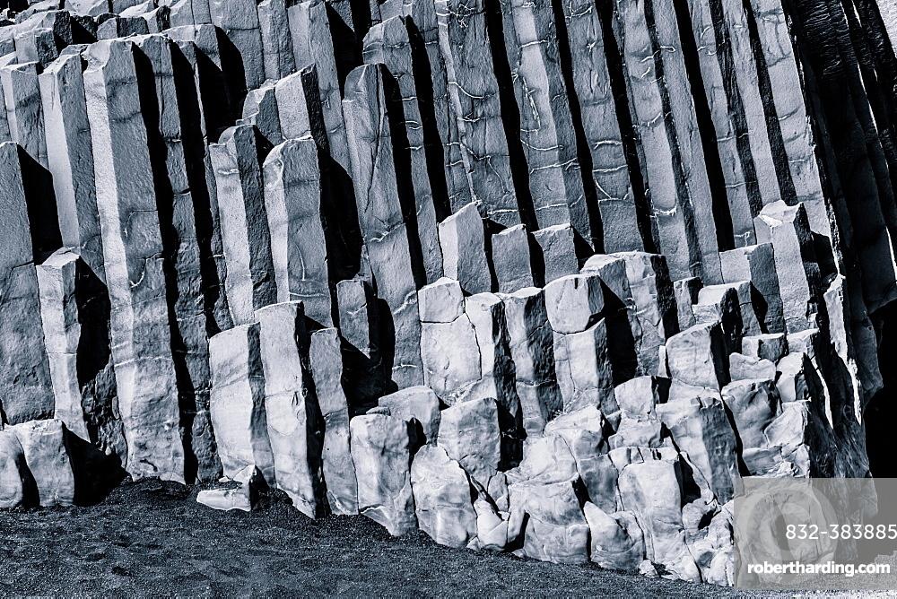 Basalt stone, Arnardrangur, Iceland, Europe