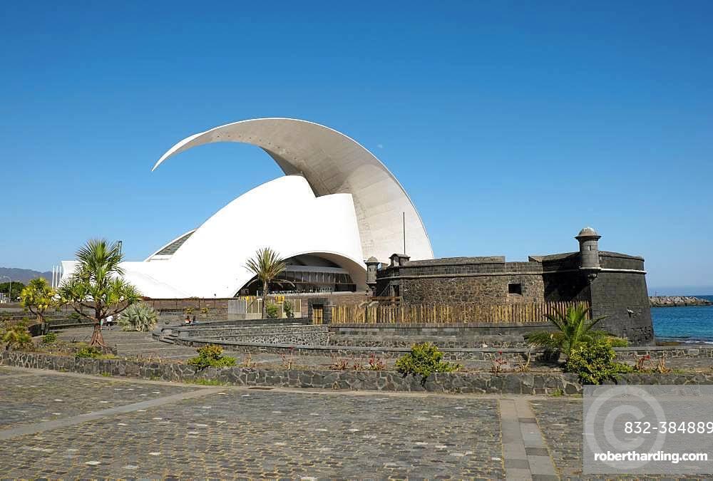 Concert Hall Auditorio de Tenerife, Santa Cruz de Tenerife, Tenerife, Canary Islands, Spain, Europe