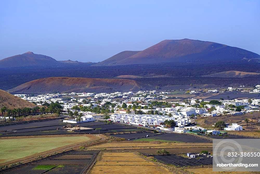Yaiza, La Geria region, Lanzarote, Canary Islands, Spain, Europe