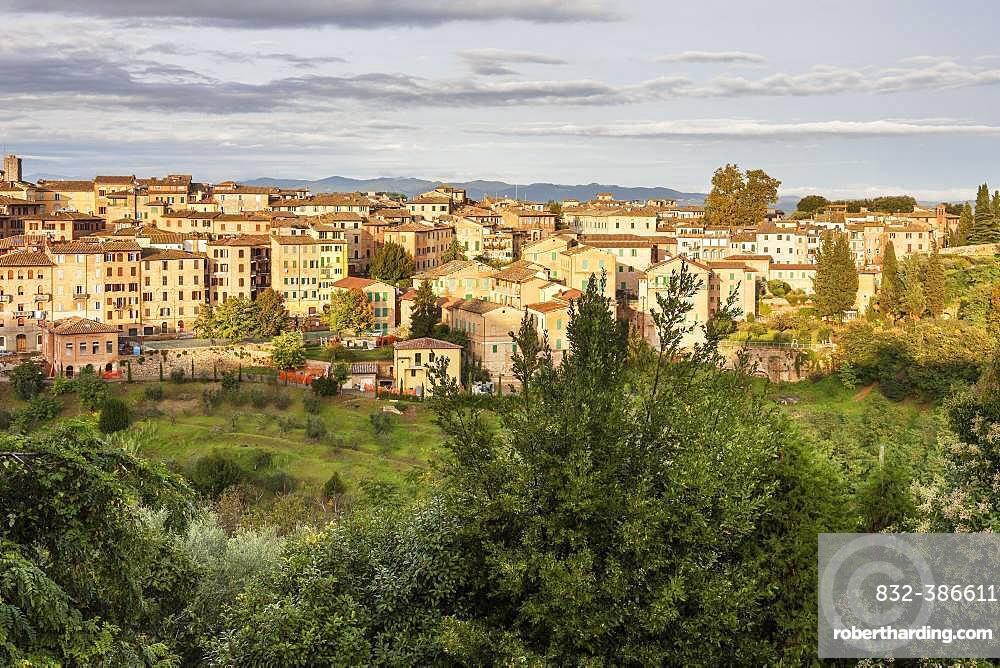 City view, Siena, Tuscany, Italy, Europe