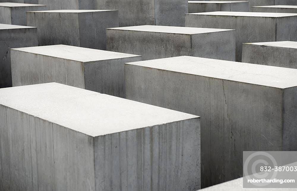 Holocaust Memorial, Memorial to the Murdered Jews of Europe, Berlin, Germany, Europe