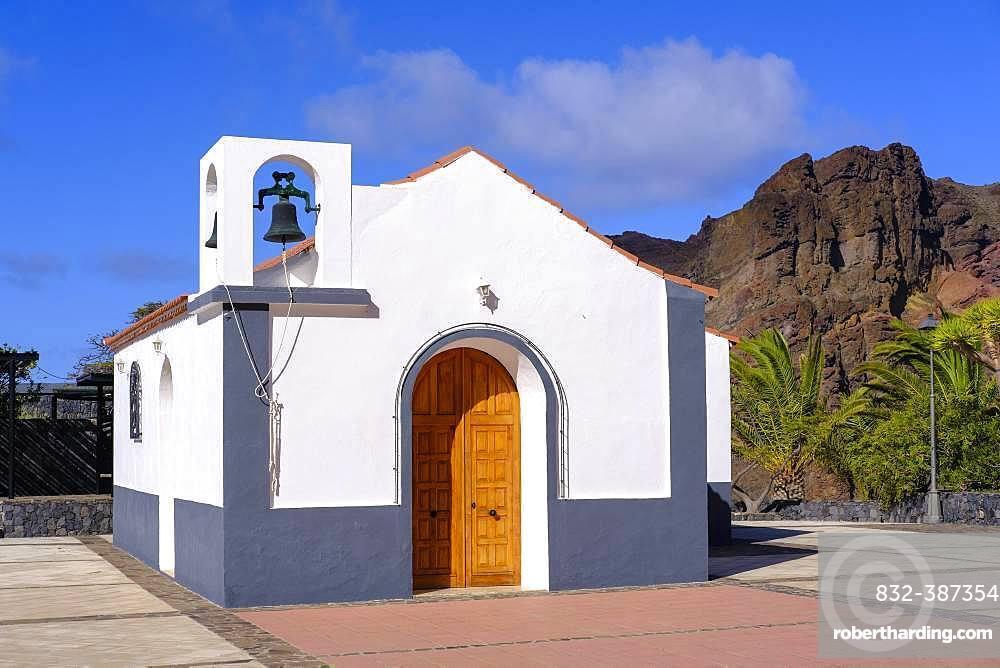 Church Ermita San Salvador in Taguluche, La Gomera, Canary Islands, Spain, Europe