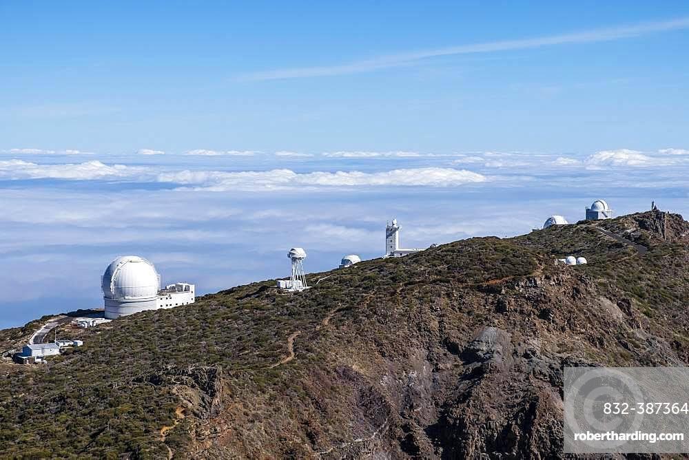 Observatories, Observatory on the Roque de los Muchachos, Gran Telescopio Canarias, La Palma, Canary Islands, Canary Islands, Spain, Europe