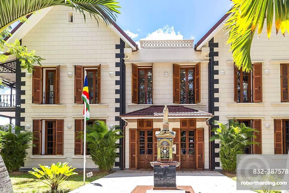 National Museum, Victoria, Mahe Island, Seychelles, Indian Ocean, Africa