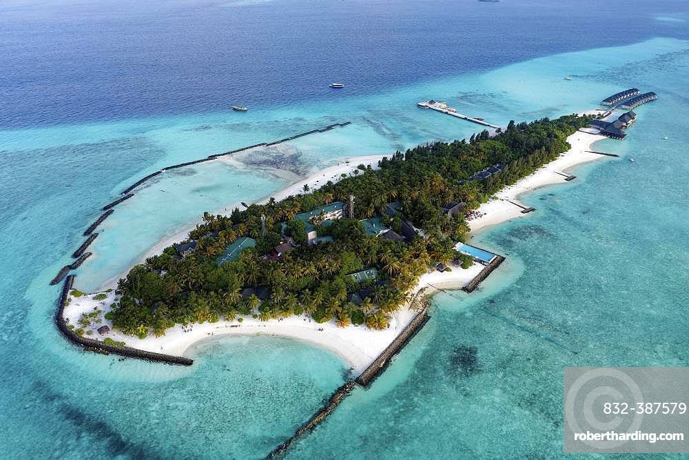 Summer Island, North Male Atoll, Maldives, Asia