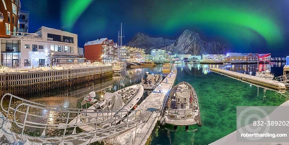 Port of Svolvaer Lofoten Norway
