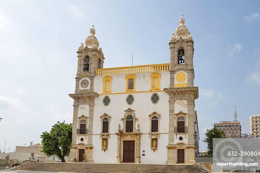 Church Igreja do Carmo, Faro, Algarve, Portugal, Europe