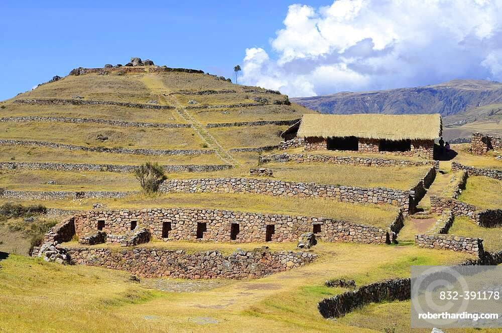 Sondor, Ruins of the Chanca Culture, Ruta 100, Andahuaylas Province, Peru, South America