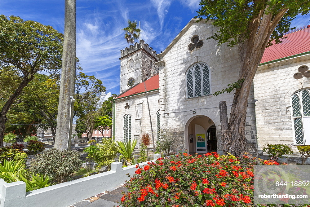 St. Michael Anglican Cathedral, Bridgetown, Barbados, West Indies, Caribbean, Central America