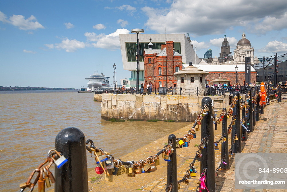 New Ferry Terminal on the Waterfront, Liverpool, Merseyside, England, United Kingdom, Europe