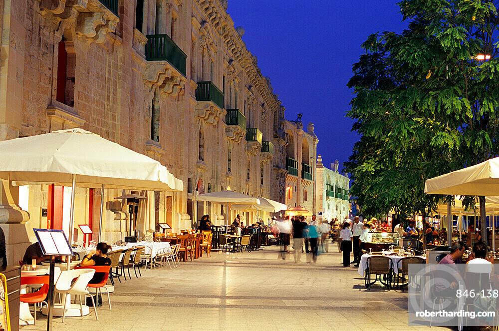 Valletta Waterfront, Valletta, Malta, Mediterranean, Europe