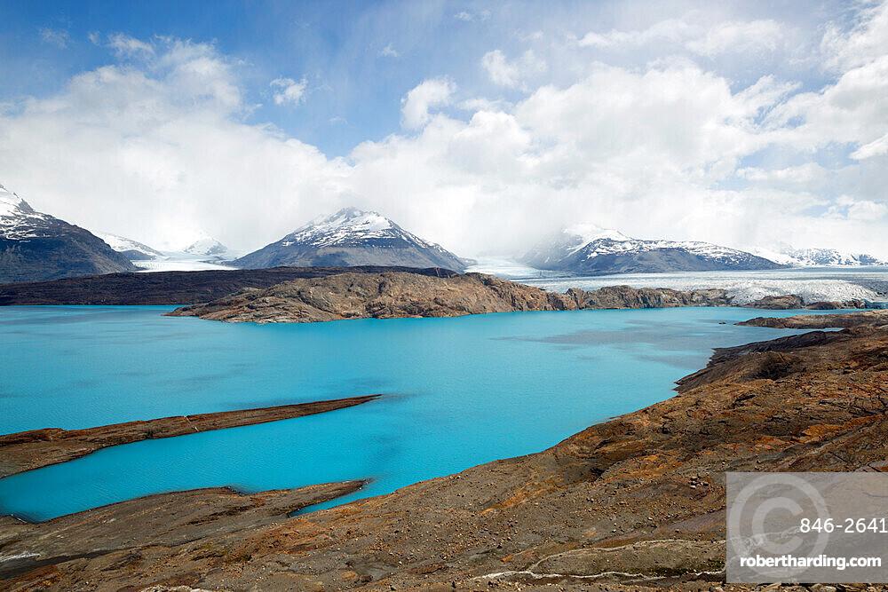 Upsala Glacier on Lago Argentino, El Calafate, Parque Nacional Los Glaciares, UNESCO World Heritage Site, Patagonia, Argentina, South America