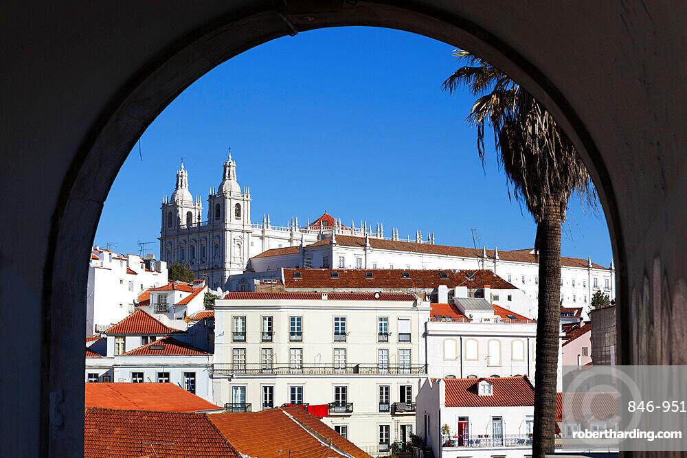 Sao Vicente de Fora church, Alfama, Lisbon, Portugal, Europe