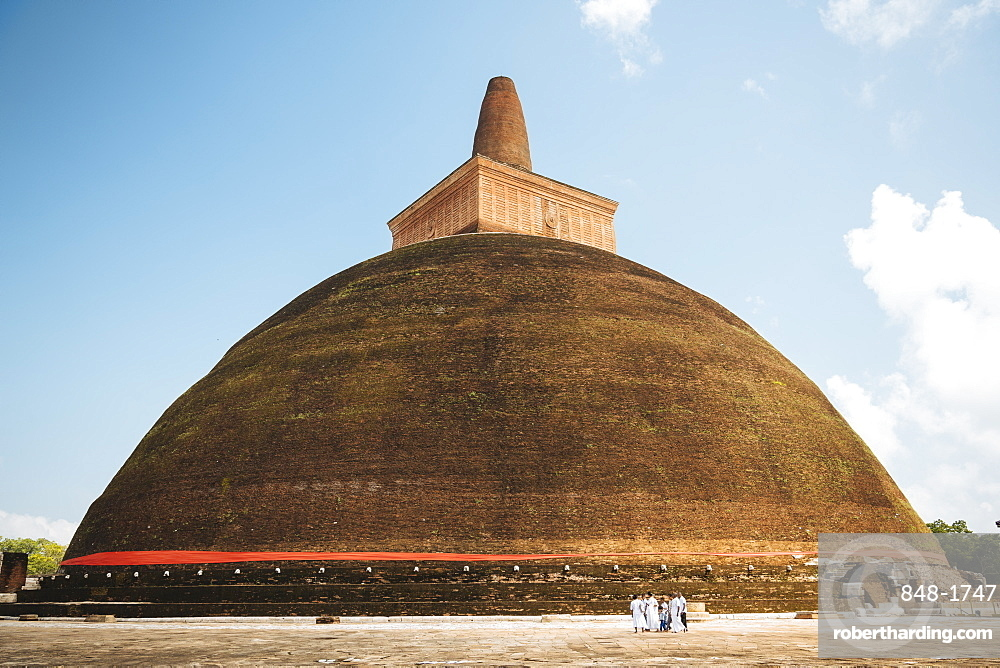 Abhayagiri Dagoba, Anuradhapura, UNESCO World Heritage Site, North Central Province, Sri Lanka, Asia