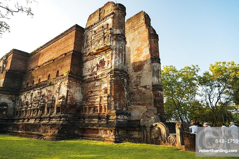 Lankatilaka Temple, Polonnaruwa, UNESCO World Heritage Site, North Central Province, Sri Lanka, Asia