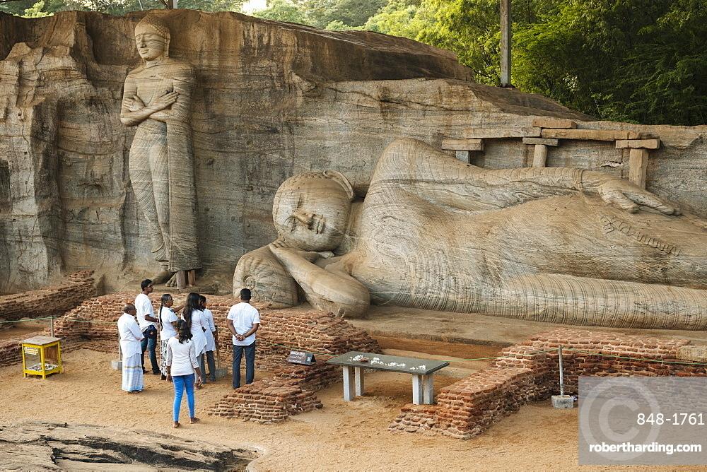Gal Vihara Temple, Polonnaruwa, UNESCO World Heritage Site, North Central Province, Sri Lanka, Asia