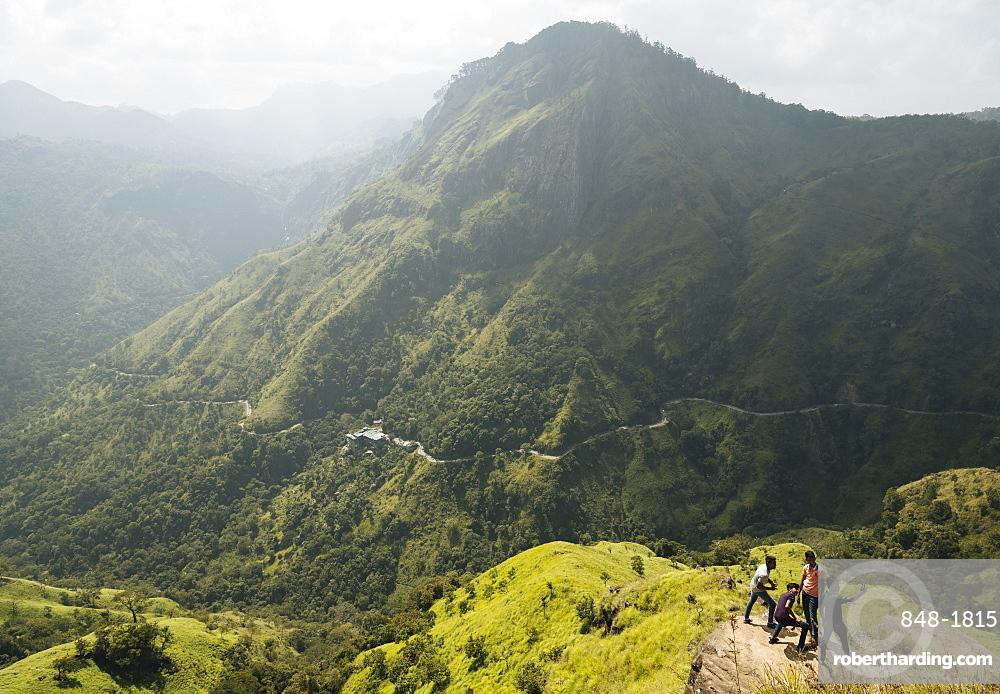View from Little Adam's Peak, Ella, Uva Province, Sri Lanka, Asia