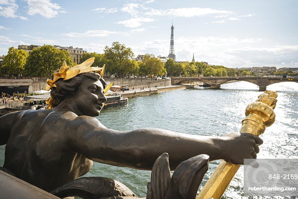 Pont Alexandre III, Paris, v?le-de-France, France, Europe