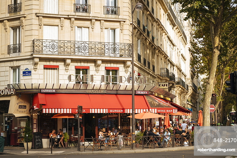 Exterior of Brasserie, Paris, v?le-de-France, France, Europe