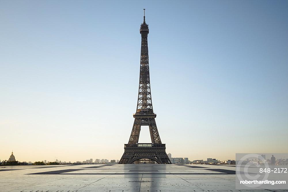 Eiffel Tower, Palais de Chaillot, Paris, v?le-de-France, France, Europe