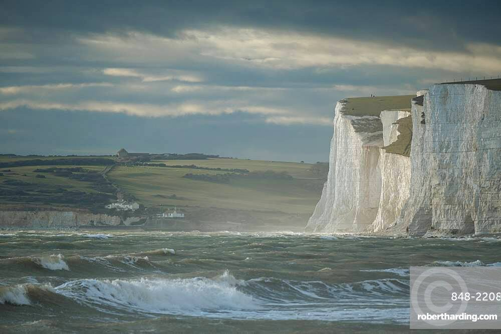 Birling Gap, East Sussex, South Downs National Park, England, United Kingdom, Europe
