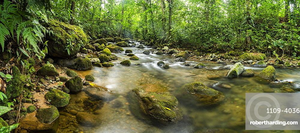 Burio River (Rio Burio), La Fortuna, Arenal, Alajuela Province, Costa Rica, Central America