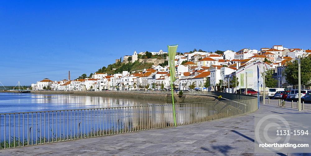 Alcacer do Sal and Sado River, Lisbon coast, Portugal, Europe