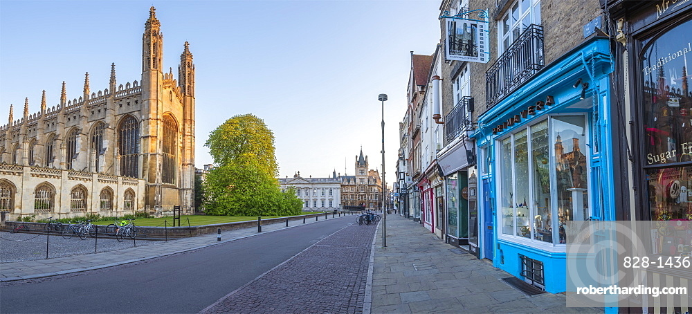 King's Parade, King's College Chapel, Cambridge, Cambridgeshire, England, United Kingdom, Europe