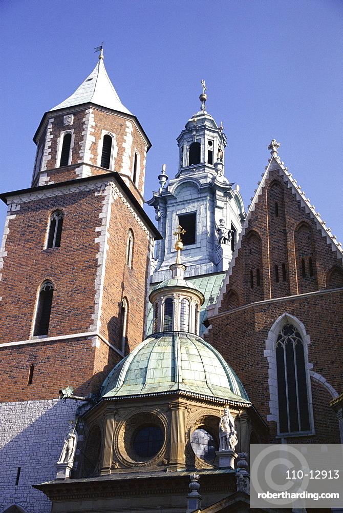 Wawel Cathedral, Krakow (Cracow), UNESCO World Heritage Site, Makopolska, Poland, Europe