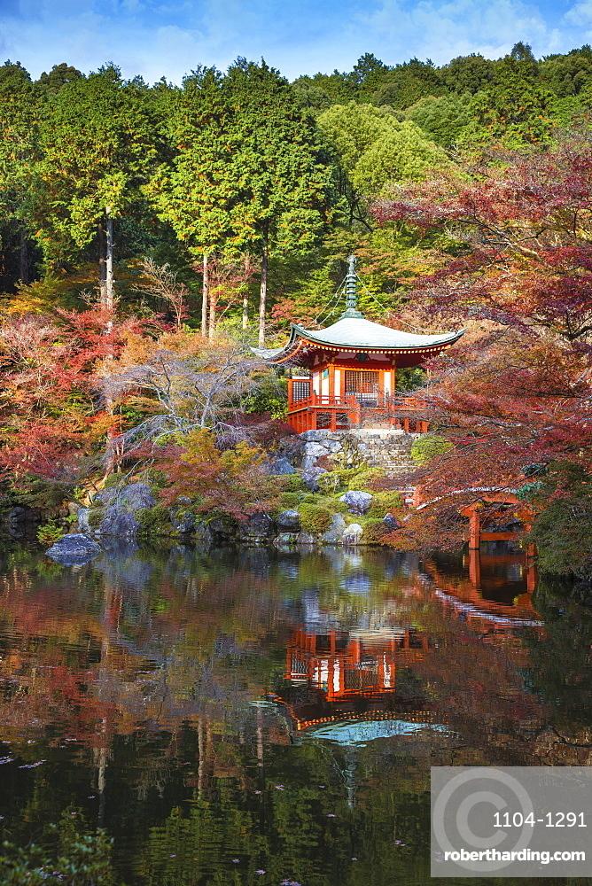 Bentendo Hall, Daigoji Temple, Kyoto, Japan, Asia