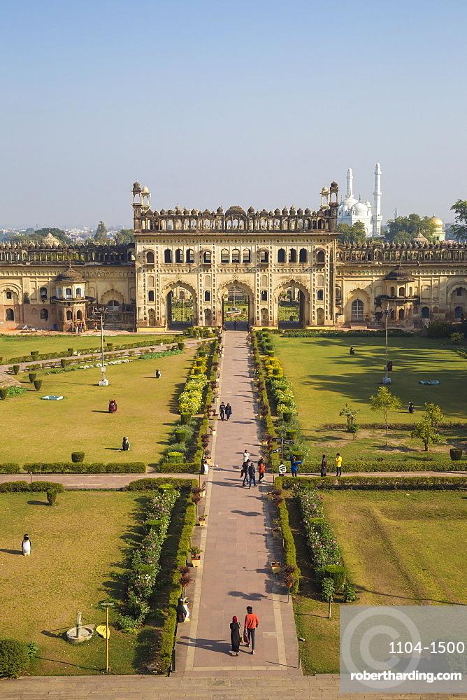 India, Uttar Pradesh, Lucknow, Bara Imambara complex, Bada Imambara (Main Building)