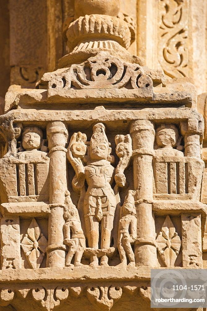 India, Madhya Pradesh, Gwalior, Gwalior Fort, Sasbahu Temple