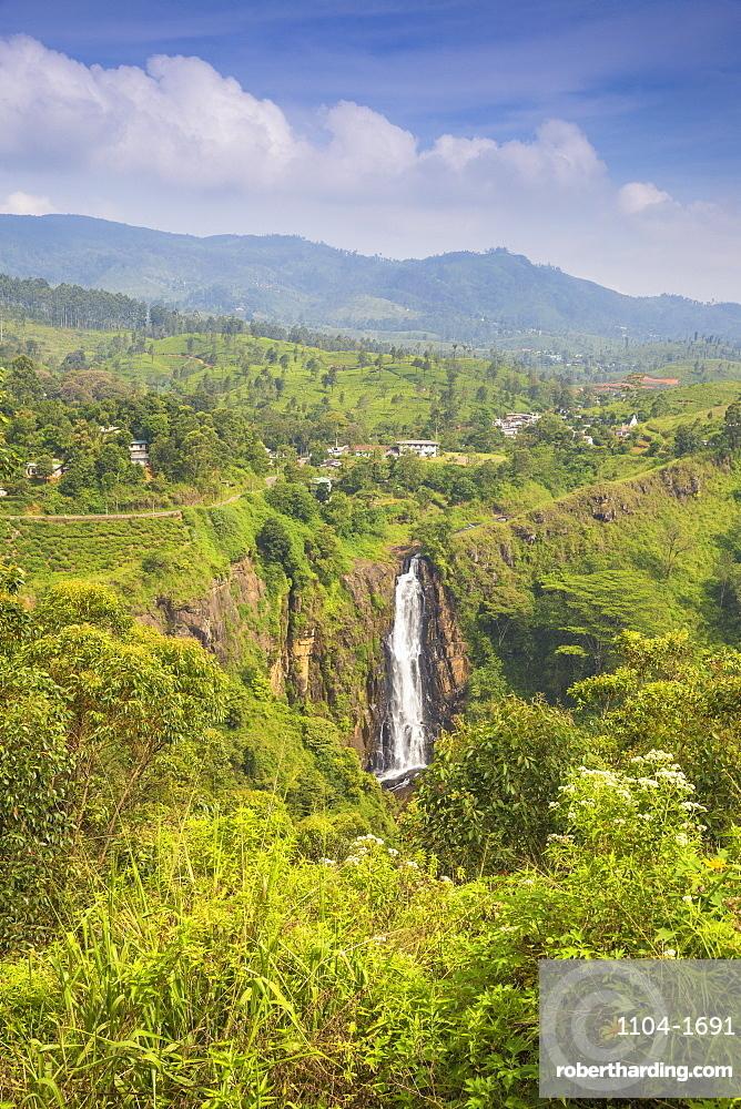Sri Lanka, Nuwara Eliya, Devon Falls