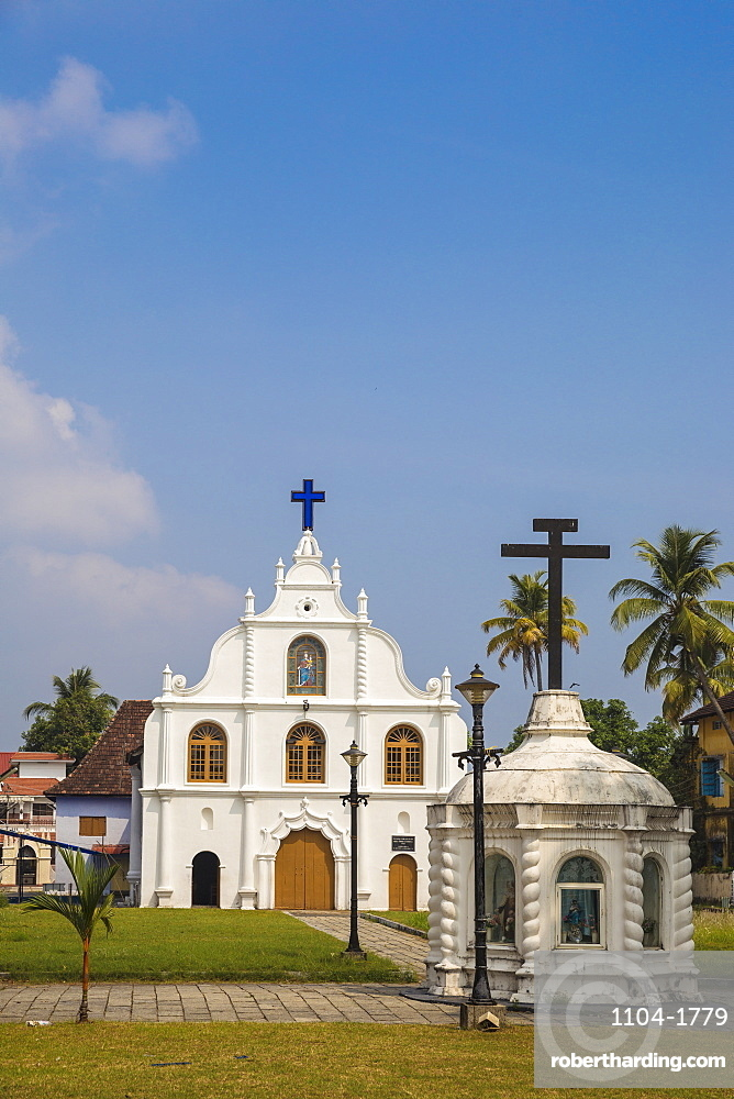 India, Kerala, Cochin - Kochi, Our Lady of Hope Church on Vipin Island