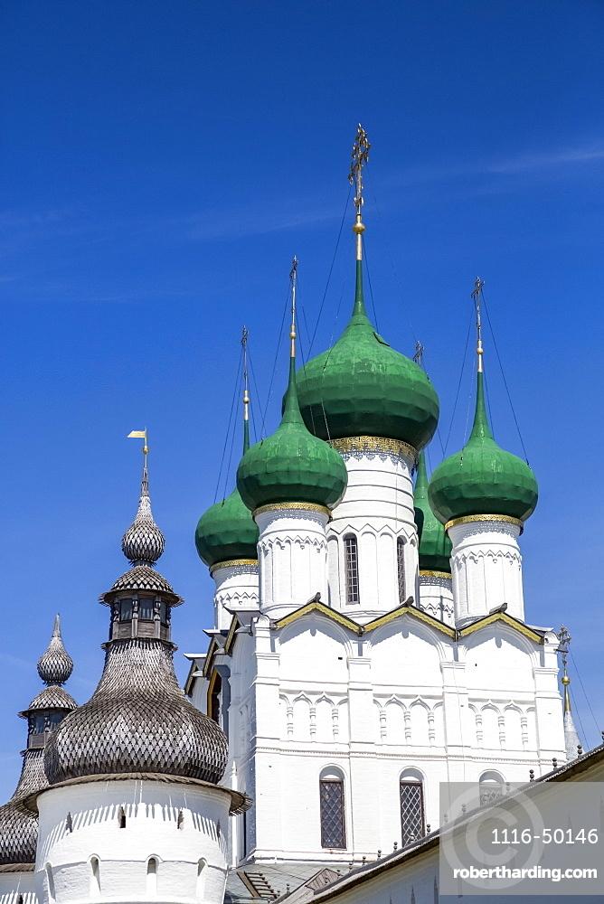 Gate-Church of St John and tower, Kremlin, Golden Ring; Rostov Veliky, Yaroslavl Oblast, Russia