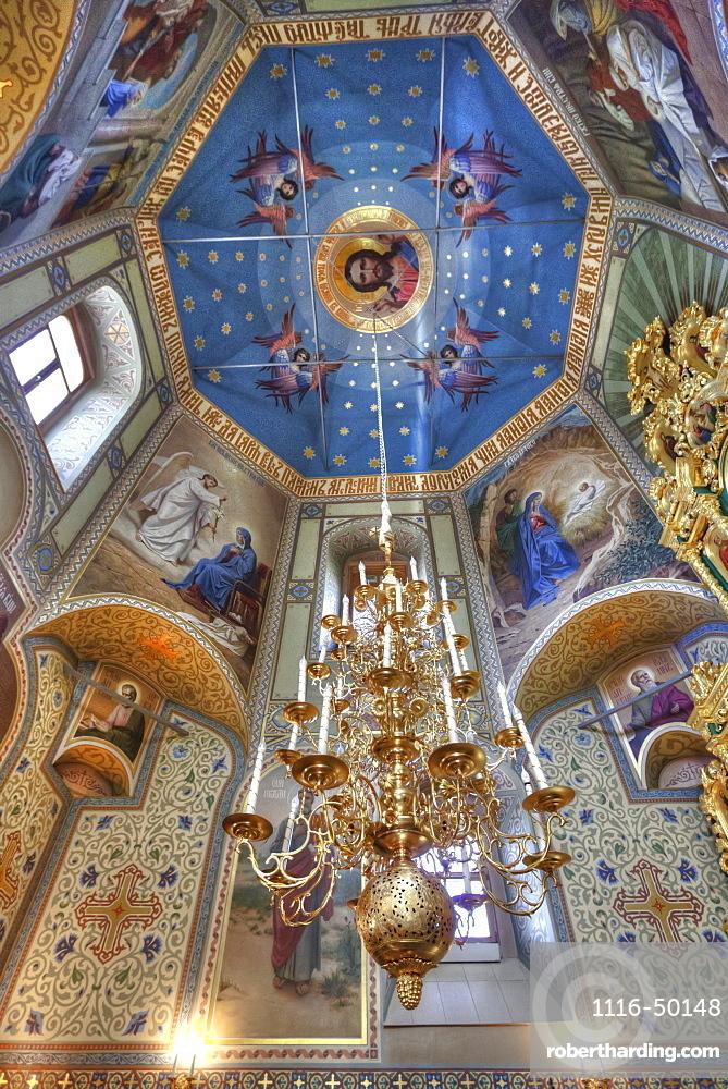 Interior Frescoes, Uspenskaya Church; Suzdal, Vladimir Oblast, Russia