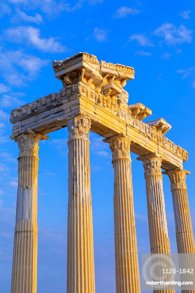 Apollo Temple, Side, Antalya Province, Turkey, Asia Minor, Eurasia
