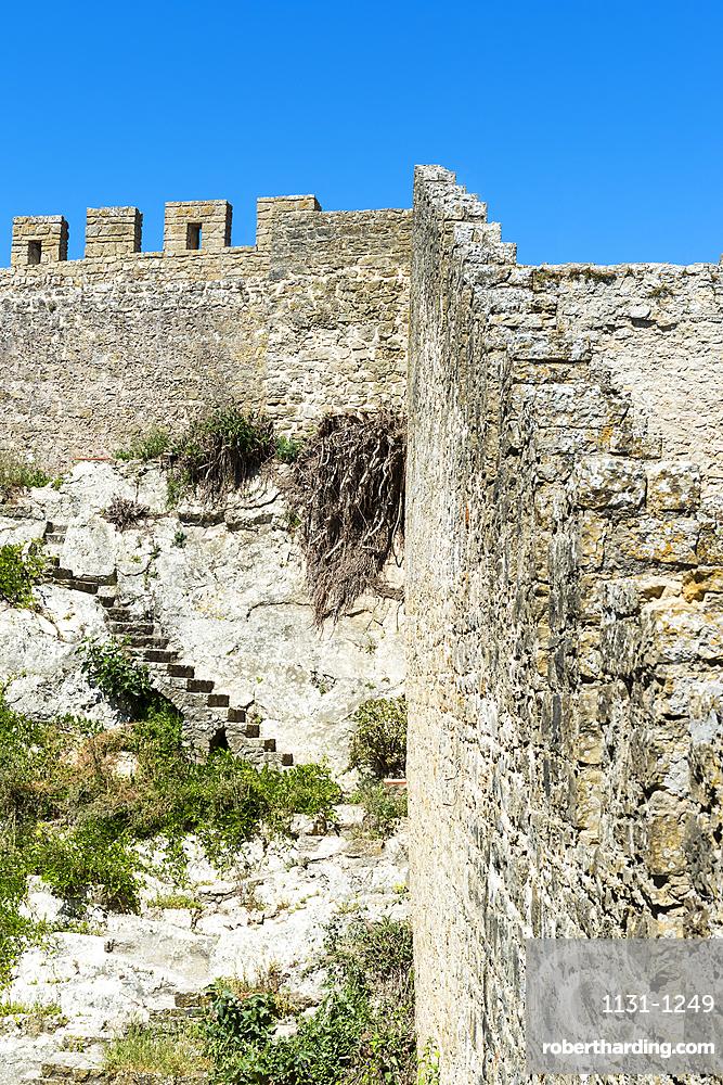 Ramparts, Obidos, Leiria District, Estremadura, Portugal, Europe
