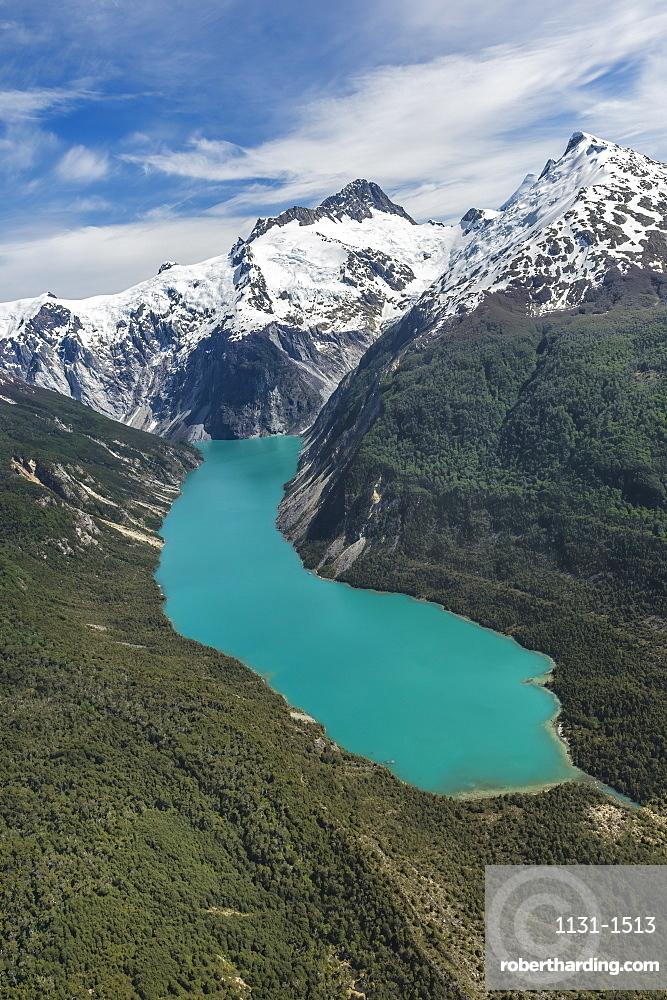Laguna San Rafael National Park, Aerial view, Aysen Region, Patagonia, Chile