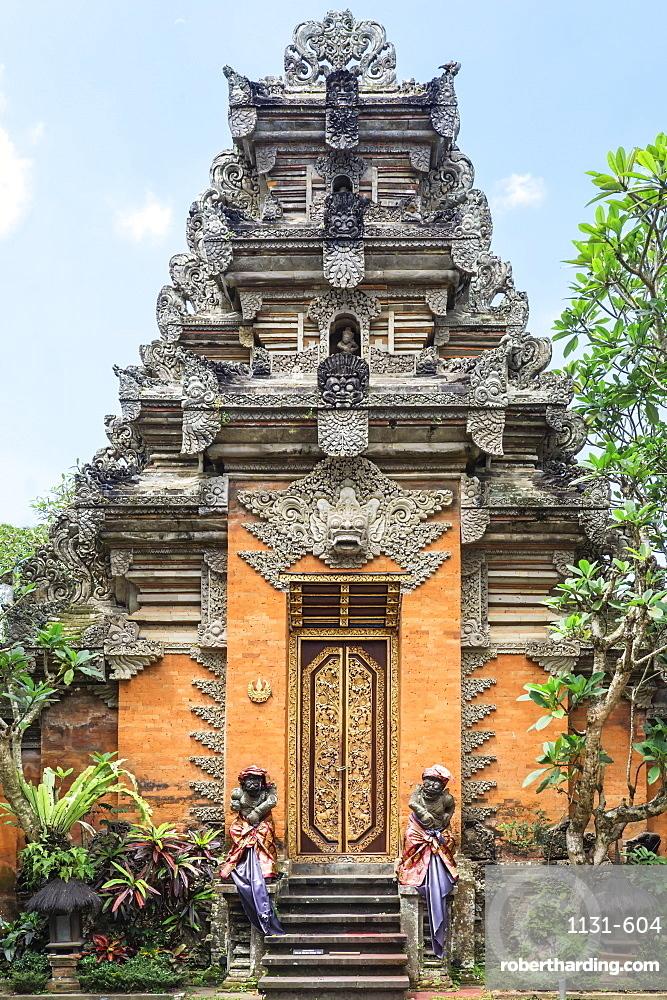 Ubud Palace, Bali, Indonesia, Southeast Asia, Asia