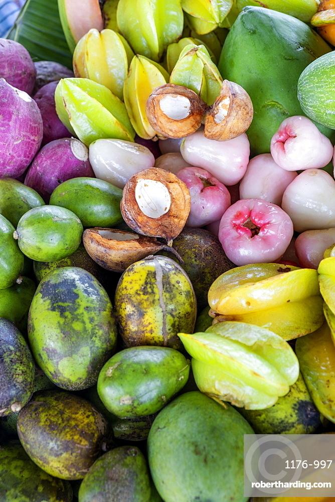 Tropical fruits, Indonesia, Southeast Asia, Asia