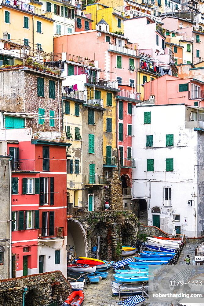 Riomaggiore, Cinque Terre, La Spezia province, Liguria, Italy