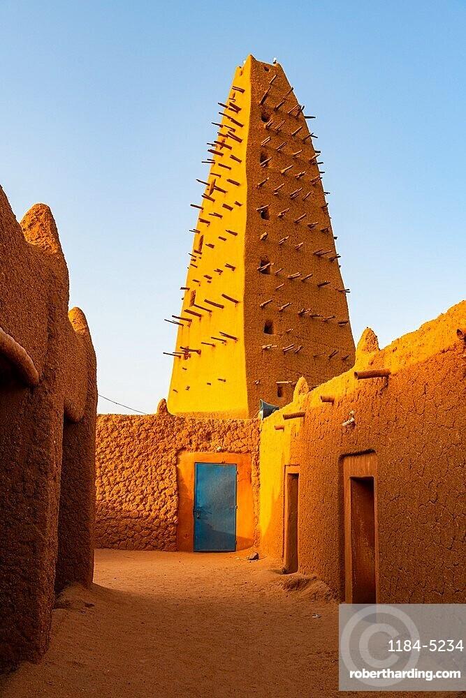 Grand mosque of Agadez, Unesco world heritage site Agadez, Niger