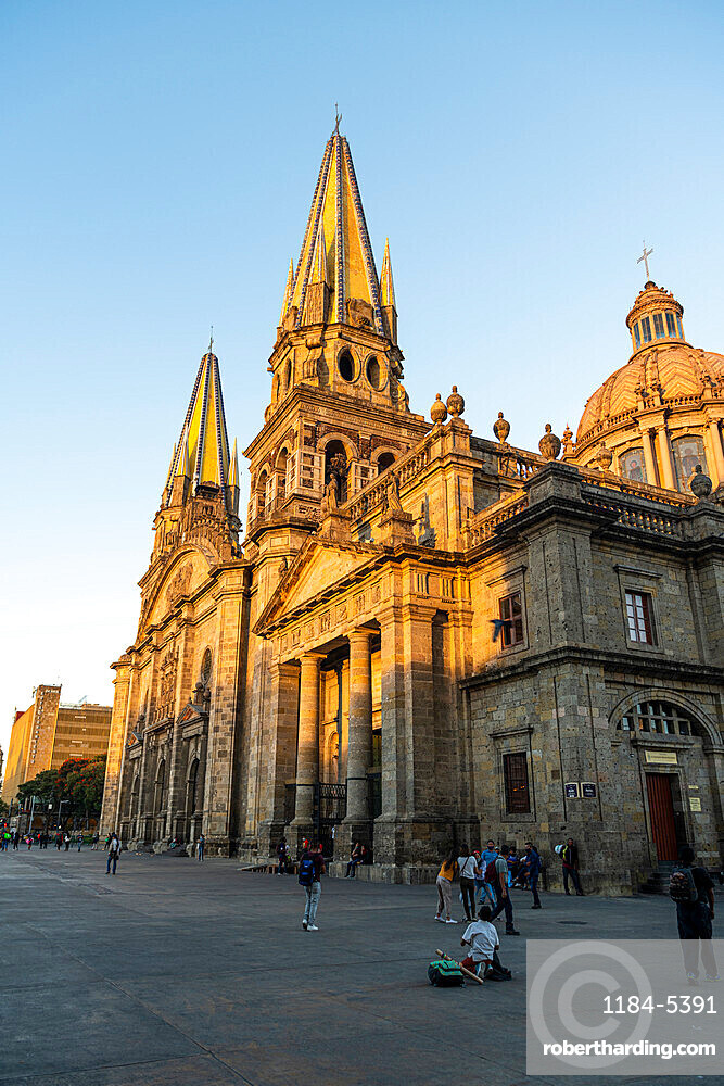 Guadalajara cathedral, Unesco site Guadalajara, Jalisco, Mexico