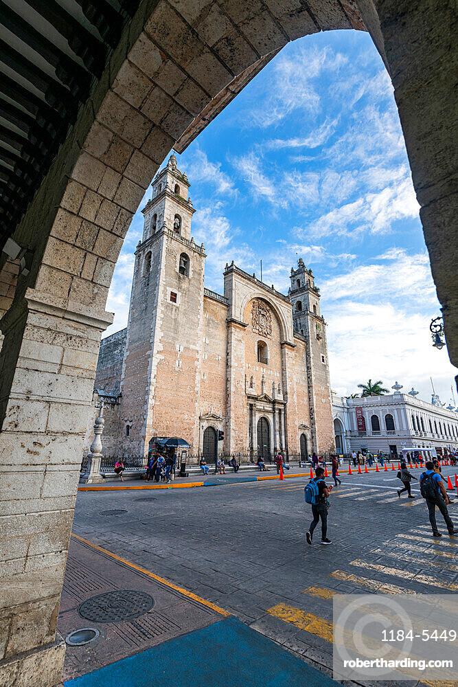 Merida Cathedral, Merida, Yucatan, Mexico, North America